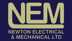 Logo for Newton Electrical and Mechanical Ltd in Hinckler - Your local Electrician, plumber, heating engineer, ventilation engineer and air conditioning service and installer / regas